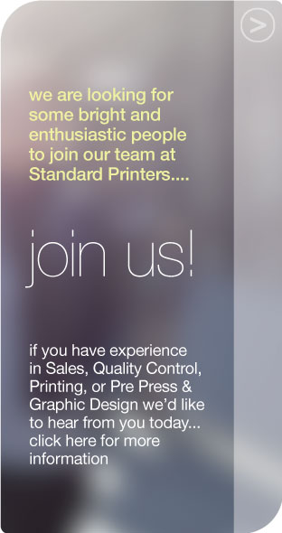 would you like a career with standard printers?