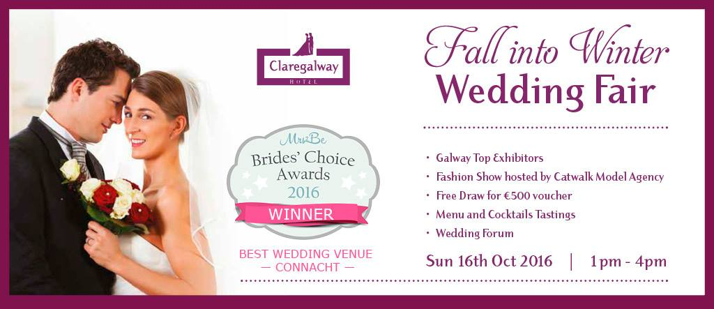 Wedding Fair 2016 at the Claregalway Hotel, Galway