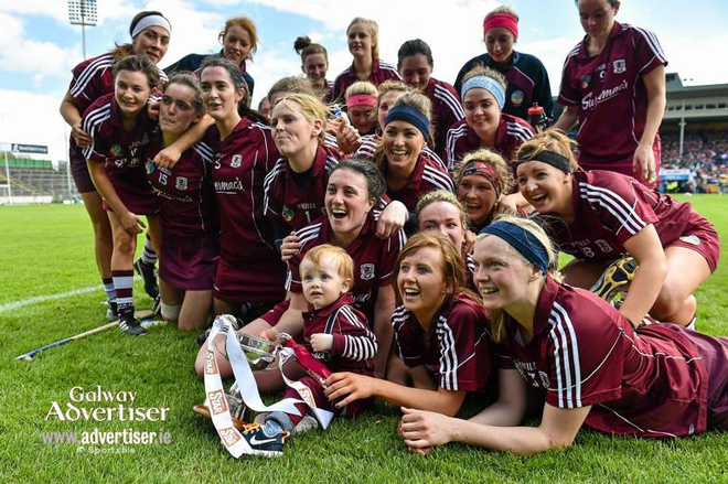 Galway are crowned the Natinal Camogie League Division One Champions for 2015